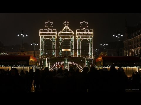 Hamburg Christmas Market (Germany) - In Another Minute (347) [4k]