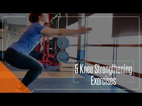 5 KNEE STRENGTHENING EXERCISES