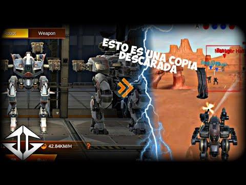 Iron Rush la copia mas descarada de War Robots.