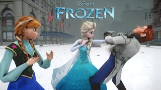 ANNA, ELSA vs HANS (FROZEN) - EPIC BATTLE(I've received many request to do battle of Anna, Elsa against Hans after the video Anna vs Elsa released. Therefore, I decided that I would make one and here it ..., 2014-11-01T16:36:31.000Z)