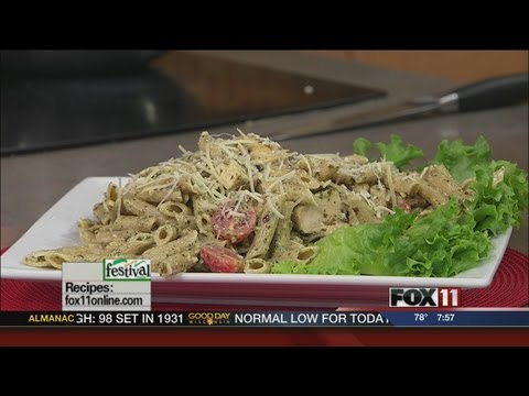 GDW7 Cooking with Amy-chicken pesto pasta salad