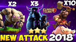 GoWiPe + Hogs: HOGOWIPE NEW TH9 STRONG WAR ATTACK STRATEGY 2018 | Clash of Clans