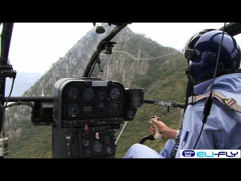 ELICOTTERO IN VOLO Lama SA 315b eurocopter e Robinson R22 Elifly//helicopter works