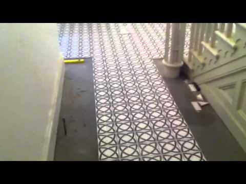 tiles casa ceramica victorian floor tiling youtube. Black Bedroom Furniture Sets. Home Design Ideas