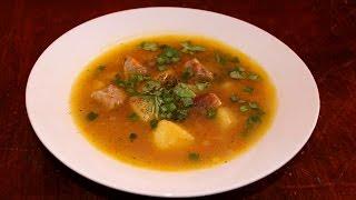 видео Как правильно варить гороховый суп