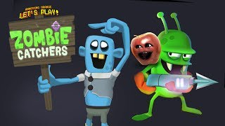 Midget Apple Plays - Zombie Catchers