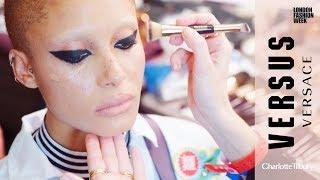 Behind the scenes: Versus By Versace Makeup for London Fashion Week | Charlotte Tilbury