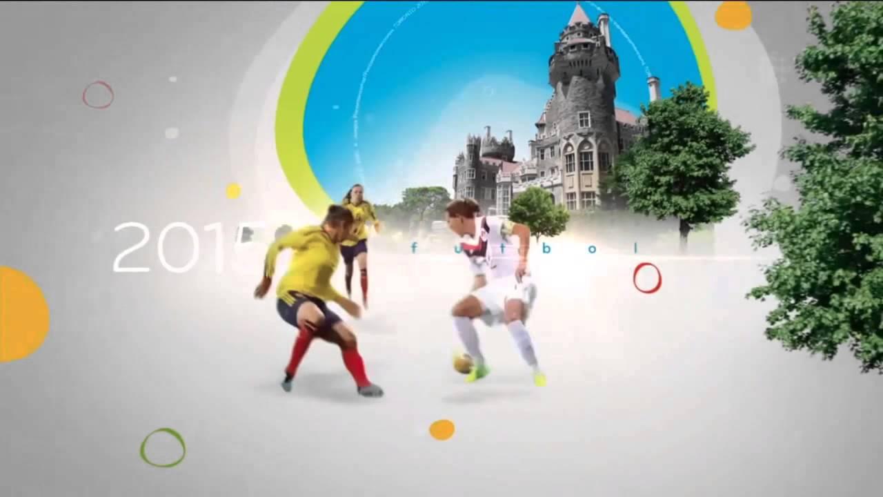 Cbc Pan Am Games Toronto 2015 Tv Intro Youtube