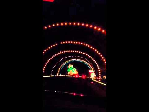 Fantasy Lights at Spanaway Park, WA - YouTube