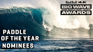 BIG WAVE PADDLE AWARD NOMINESS - The HEAVIEST WAVES paddled in 2020!!! | Red Bull Big Wave Awards