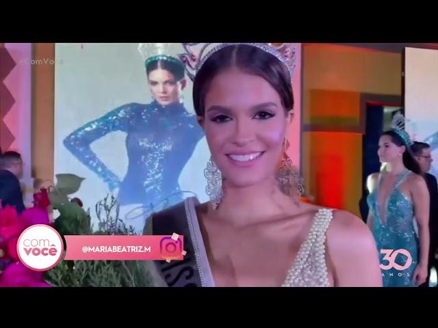 Maria Beatriz foi eleita Miss Universo Paraíba - Com Você