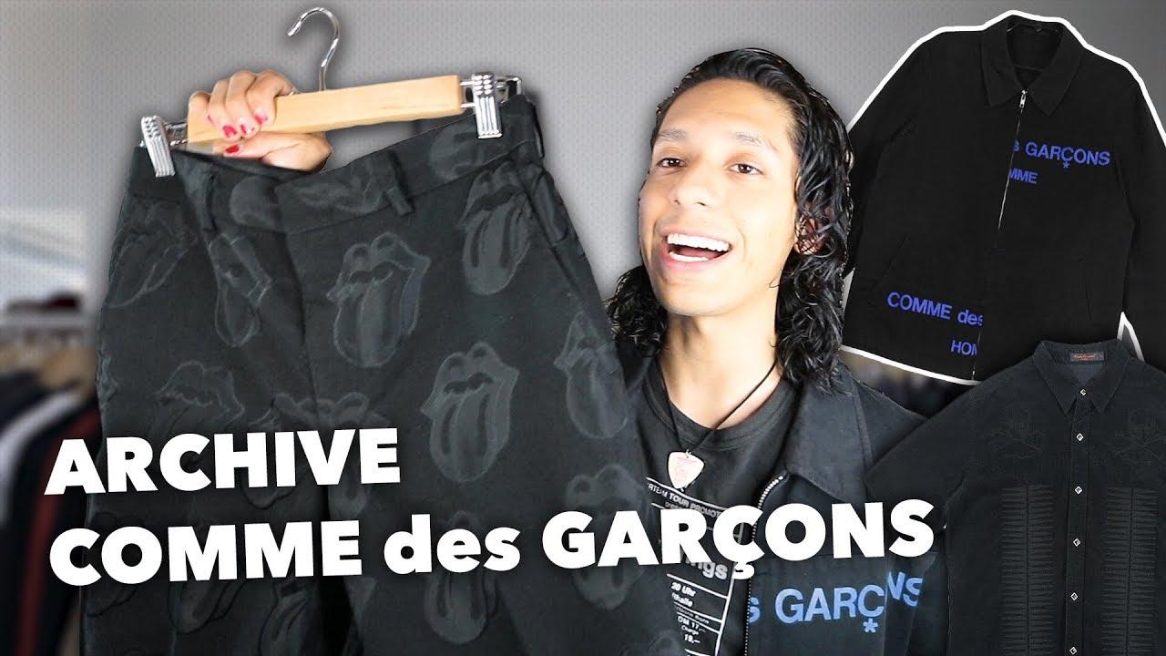 ab25b99f68b0 Archive Comme Des Garçons Pickups! - YouTube