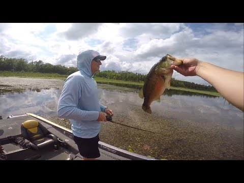 Spontaneous fishing trip in Minnesota with Dustin Connell