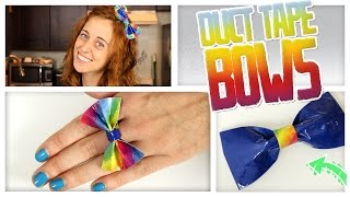 Duct Tape Bows - Do It, Gurl