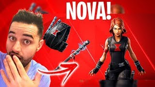 NEW SKIN OF THE BLACK WIDOW OF THE AVENGERS AT THE FORTNITE STORE! Fortnite