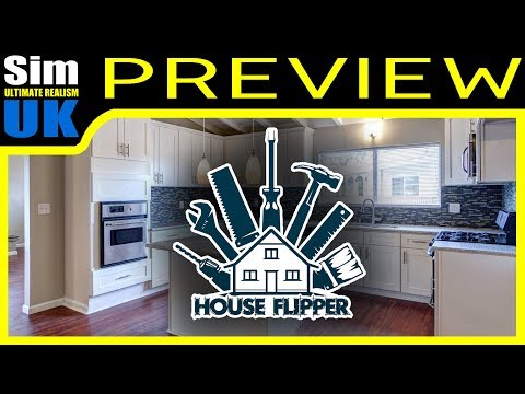 Bought & Lost a House! House Flipper Let's PLAY Preview #4