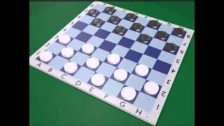 обучение игры в шашки №1
