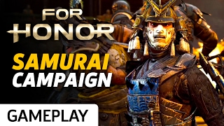 First Mission of Samurai Story Mode in For Honor Gameplay