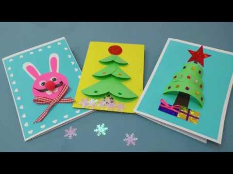 Как сделать открытки на Новый 2019 год своими руками - ФОТО