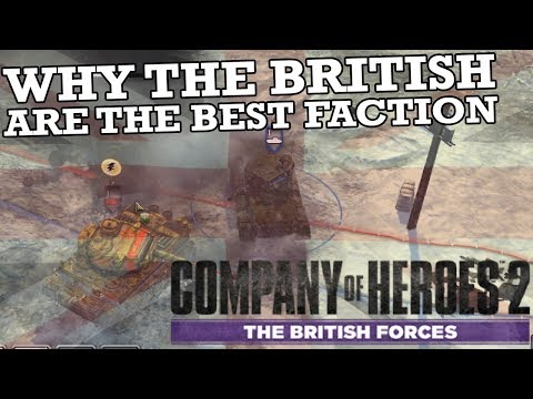 Why The British Are The Best Faction In Company Of Heroes 2