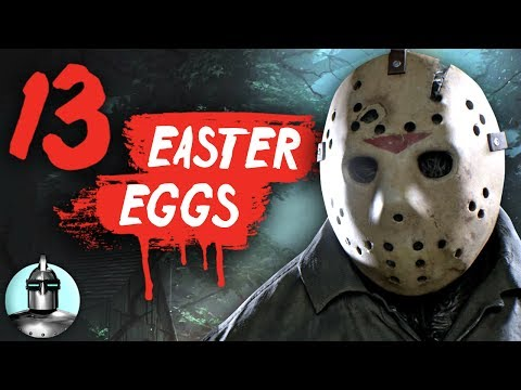13 Friday The 13th Game Easter Eggs & Secrets YOU May Have Missed - Easter Eggs #2 | The Leaderboard