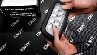 FEUX DE TRAVAIL PROJECTEUR LED EXTERIEUR IP67 AUTO QUAD CAMION BATEAU 12V 24