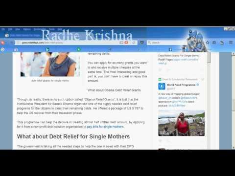 debt-relief-grants-for-single-moms