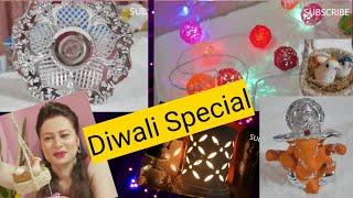 Amazon Shopping Haul | Rs 50 starting | Amazon | Flipkart | HomeTown Store | #diwalishopping