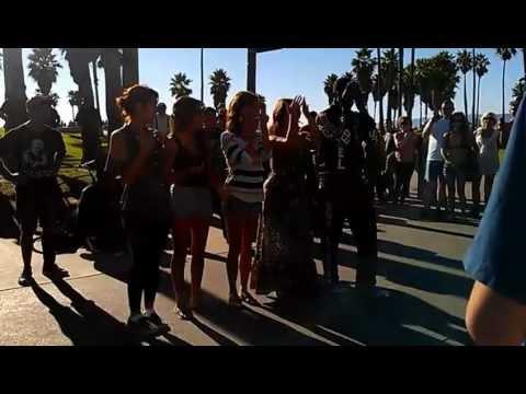hip hop street dancers