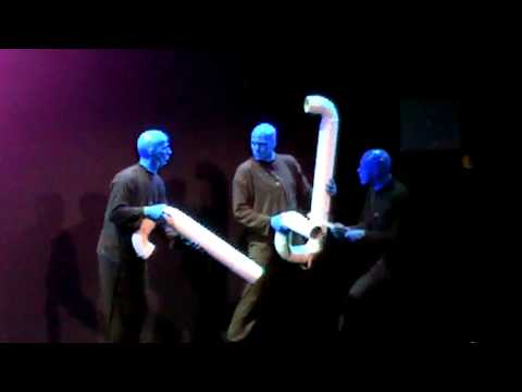 Blue Man Group Chicago,IL 2010