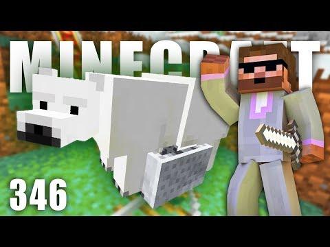 TRANSPORT LEDNÍHO MEDVĚDA | Minecraft Let's Play #346