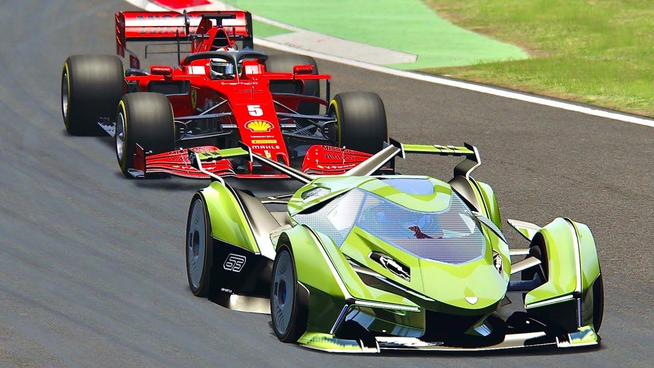 Lamborghini F1 Car 2020 - FIA Formula One Live Streaming
