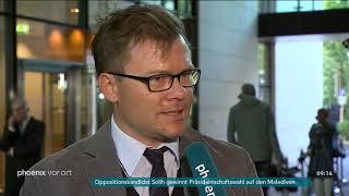Carsten Schneider im Interview zur Einigung um Causa Maaßen am 24.09.2018