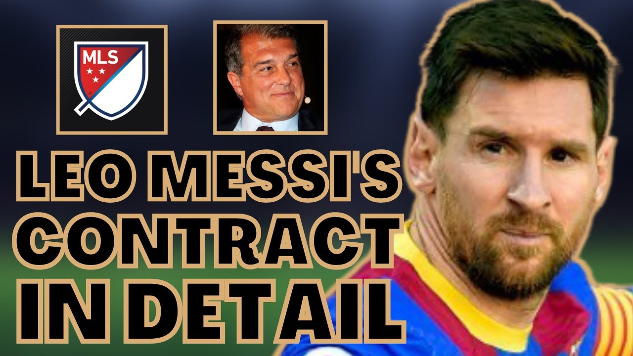 Lionel Messi's future up in the air as FC Barcelona contract ends
