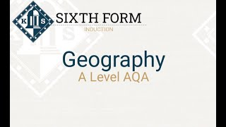 A Level Geography Induction