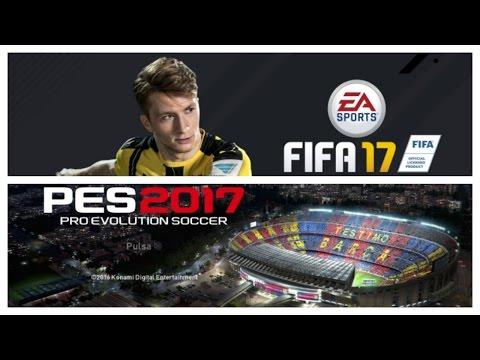 Fifa 17 VS PES 2017 | Análisis Gameplay | Ps4