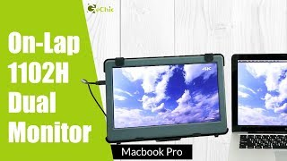 GeChic How to Connect a External Portable Monitor to Macbook Pro