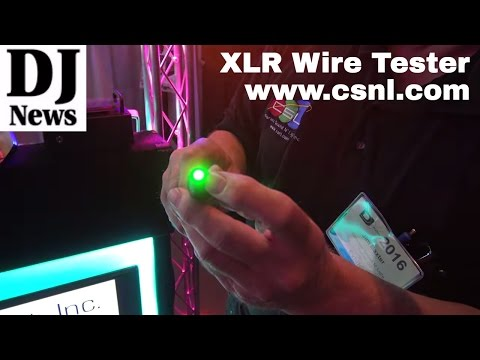 Colorado Sound N' Light LED XLR Cable Tester | Disc Jockey News