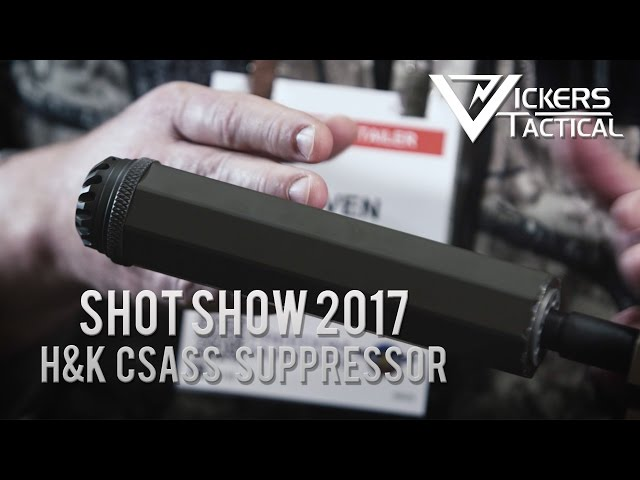 Shot Show 2017: H&K M110A1 CSASS Suppressor