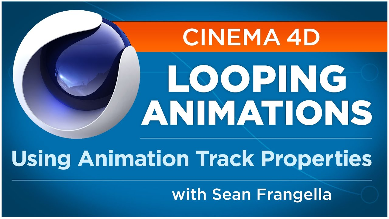Creating Looping Animations in Cinema 4D using Animation Track Properties -  Sean Frangella