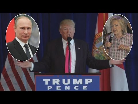 Donald Trump Asks Russia To Share Hillary Clinton's Hacked Emails With FBI