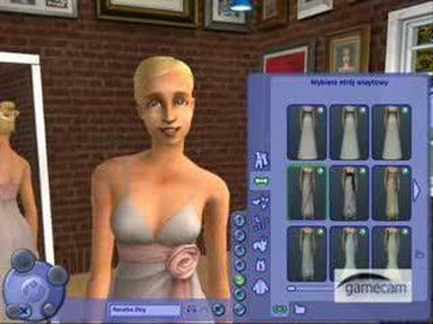 The Sims 2 Impreza Prezentacja Gry Fryzury I Ubrania