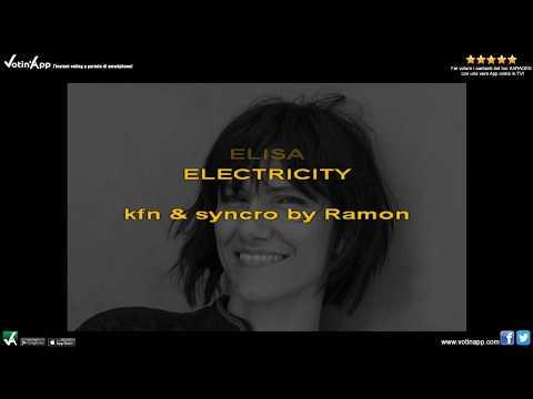 Elisa - Electricity (Karaoke HQ)