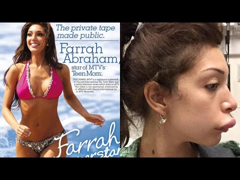 Farrah Abraham Suffers awkward wardrobe malfunction at Venice Film Festival 2019 from YouTube · Duration:  53 seconds