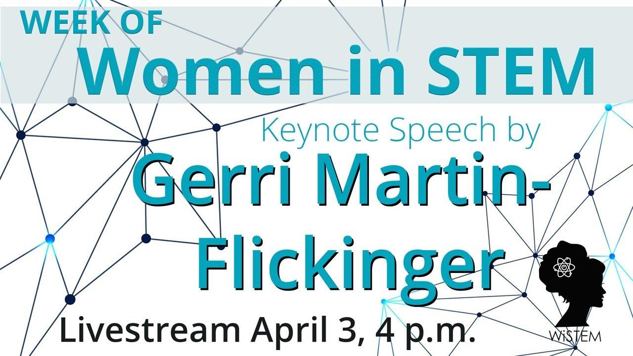 Image for WSU Global: Week of Women in STEM Keynote Speech by Gerri Martin-Flickinger webinar