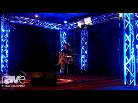 InfoComm 2016: Briana Tyson Sings Whitney Houston Song at the PreSonus Audio Demo Room