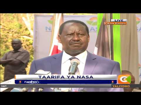 Raila: Only 3.5M people voted, disputes IEBC's 7.6M figure