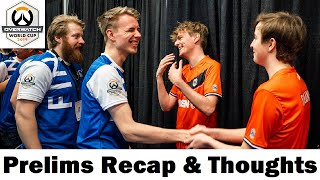 Overwatch World Cup 2019: Prelims Recap & Thoughts