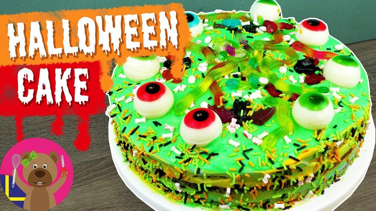 Recept Halloween Tårta Enkelt Recept För Barn Youtube