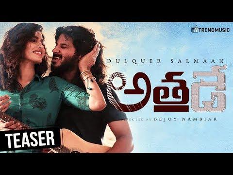 Athadey Latest Telugu Movie Teaser | Dulquer Salmaan | Bejoy Nambiar | Solo Telugu Version